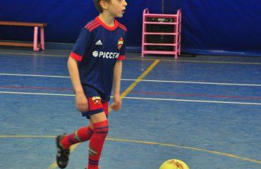 В товарищеском матче по мини-футболу впервые приняли участие юные премьеровцы. 8