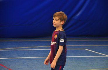В товарищеском матче по мини-футболу впервые приняли участие юные премьеровцы. 1