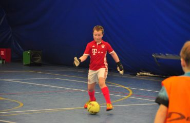 В товарищеском матче по мини-футболу впервые приняли участие юные премьеровцы. 2