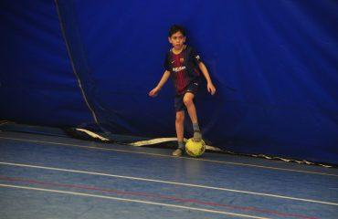 В товарищеском матче по мини-футболу впервые приняли участие юные премьеровцы. 3