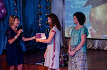 Церемония вручения аттестатов в 9 классе 45