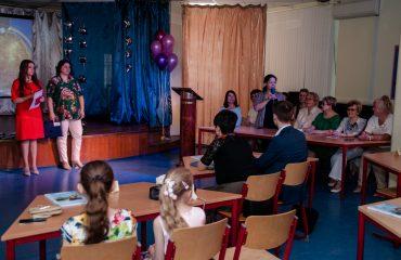 Церемония вручения аттестатов в 9 классе 53