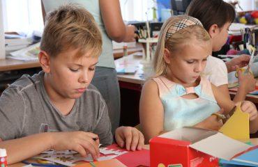 22 сентября в школе «Премьер»  состоялось торжественное открытие Клубного дня 12