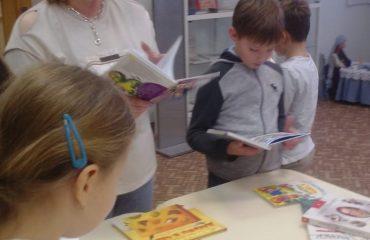 26 и 27 сентября в школе «Премьер» прошли библиотечные занятия для 2 и 3 классов 1