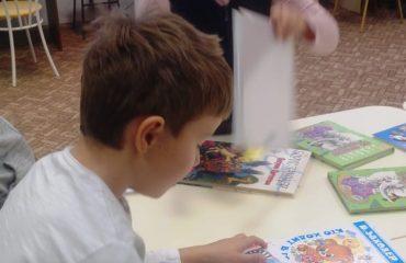 26 и 27 сентября в школе «Премьер» прошли библиотечные занятия для 2 и 3 классов
