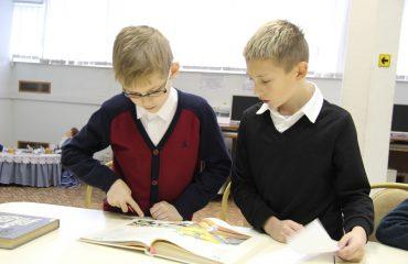 26 и 27 сентября в школе «Премьер» прошли библиотечные занятия для 2 и 3 классов 4