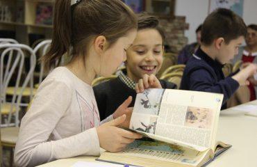 26 и 27 сентября в школе «Премьер» прошли библиотечные занятия для 2 и 3 классов 5
