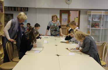 26 и 27 сентября в школе «Премьер» прошли библиотечные занятия для 2 и 3 классов 7
