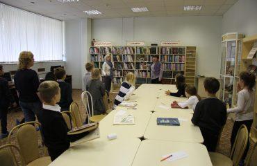 26 и 27 сентября в школе «Премьер» прошли библиотечные занятия для 2 и 3 классов 8