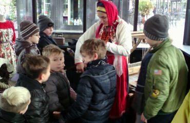 26 октября обучающиеся начальной школы «Премьер» посетили тематические площадки  фестиваля «Золотая осень» 6