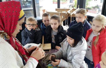 26 октября обучающиеся начальной школы «Премьер» посетили тематические площадки  фестиваля «Золотая осень» 7