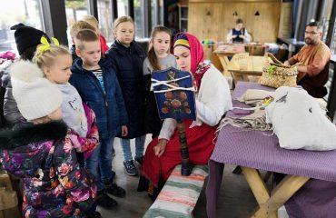 26 октября обучающиеся начальной школы «Премьер» посетили тематические площадки  фестиваля «Золотая осень» 13