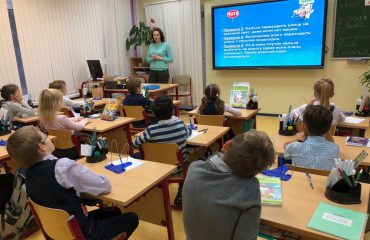 В школе «Премьер» с 22 по 26 октября была проведена профилактическая неделя по снижению детского дорожно-транспортного травматизма 3