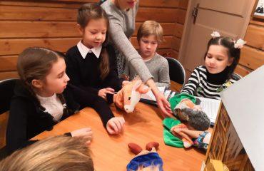 1-ый класс посетил в музее Константина Георгиевича Паустовского интерактивное тематическое занятие «Сказка будет жить всегда» 13