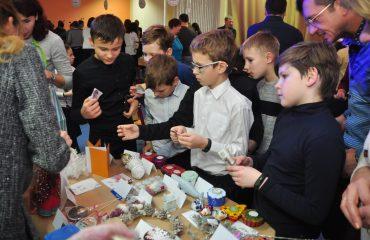 13 декабря в школе «Премьер» состоялась Рождественская благотворительная ярмарка 24