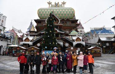 5 декабря обучающиеся 1-3 классов школы «Премьер» посетили Кремль в Измайлово 9