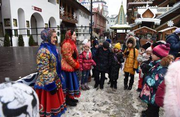 5 декабря обучающиеся 1-3 классов школы «Премьер» посетили Кремль в Измайлово