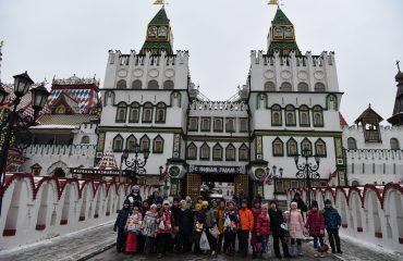 5 декабря обучающиеся 1-3 классов школы «Премьер» посетили Кремль в Измайлово 13