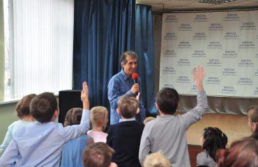 «Встречи с интересными людьми» Гость школы – Артур Александрович Гиваргизов. 3