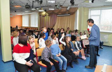 «Встречи с интересными людьми» Гость школы – Артур Александрович Гиваргизов. 6