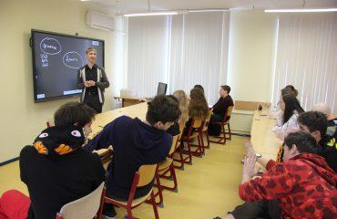 Состоялась встреча с руководителем физико-математической школы МИЭМ НИУ ВШЭ Чернацким Сергеем Генриховичем 1