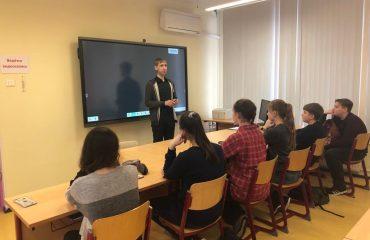 Состоялась встреча с руководителем физико-математической школы МИЭМ НИУ ВШЭ Чернацким Сергеем Генриховичем 2