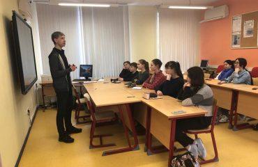 Состоялась встреча с руководителем физико-математической школы МИЭМ НИУ ВШЭ Чернацким Сергеем Генриховичем 4