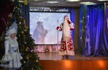 Дед Мороз в начальной школе 13