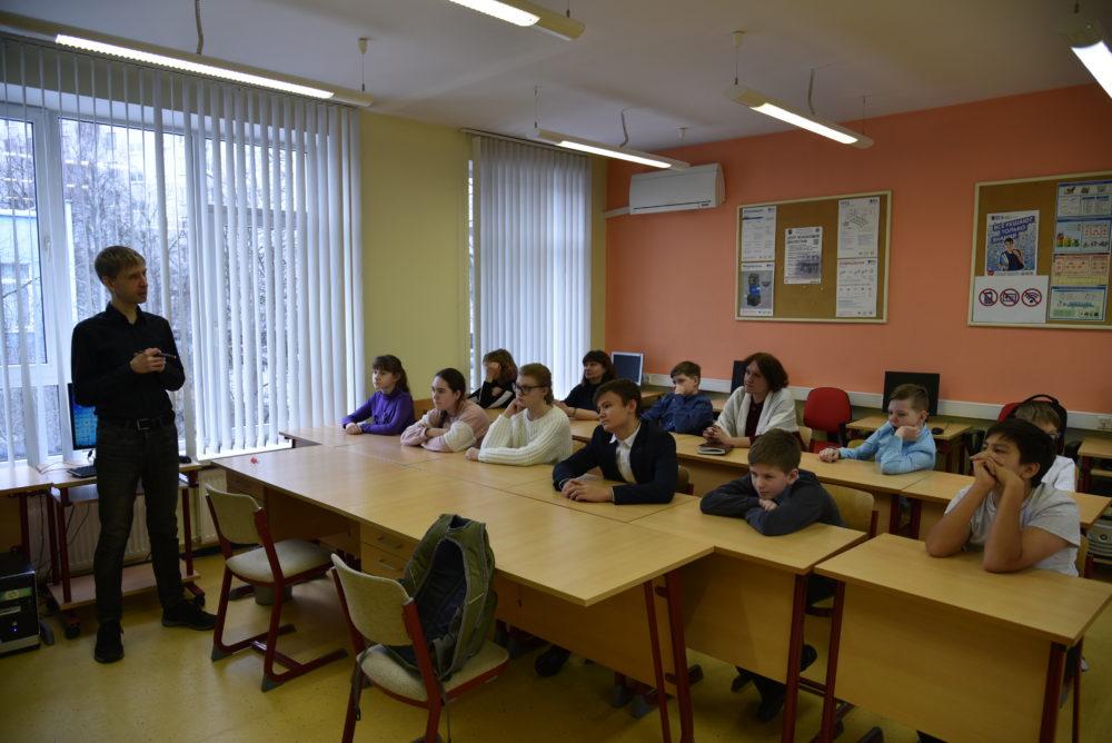 Встреча с руководителем физико-математической школы МИЭМ НИУ ВШЭ Чернацким Сергеем Генриховичем 1