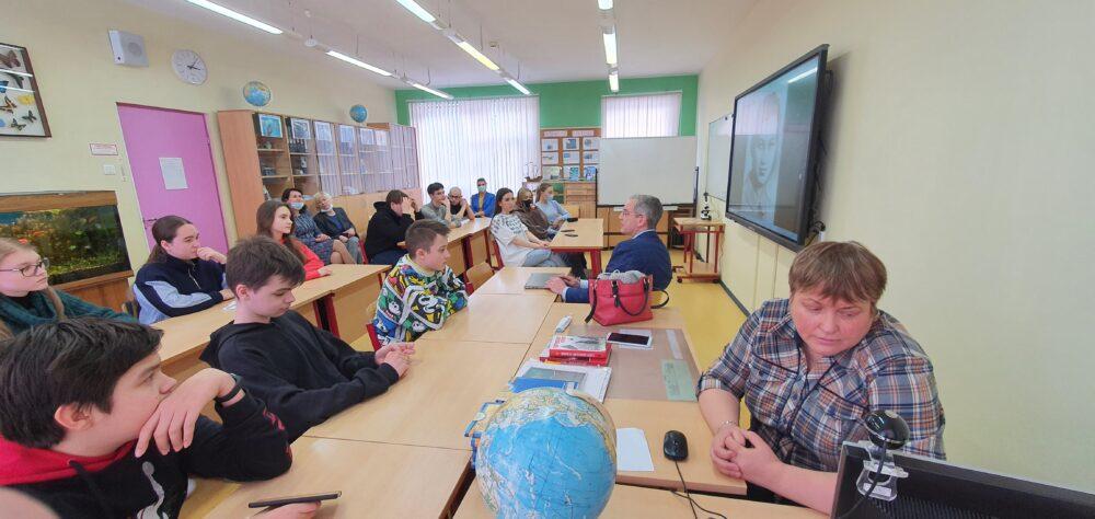 18 февраля в рамках «Недели науки» в школе Премьер прошла встреча с Юрием Александровичем Никифоровым